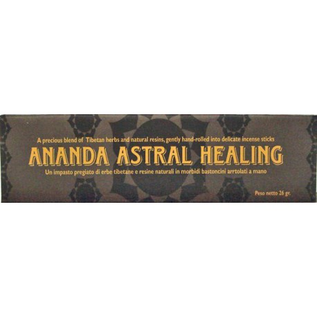 INCENSI NATURALI HEALING ANANDA ASTRAL