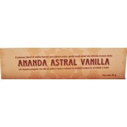 INCENSI ALLA VANIGLIA - LINEA ANANDA ASTRALE