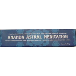 INCENSI NATURALI MEDITATION ANANDA ASTRAL