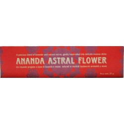 INCENSI NATURALI FIORE ANANDA ASTRAL