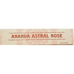 INCENSI NATURALI ALLA ROSA ANANDA ASTRAL