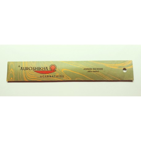INCENSO AUROSHIKHA ALL'AMBRA 10 g