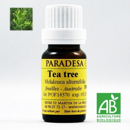 OLIO ESSENZIALE DI TEA TREE BIO